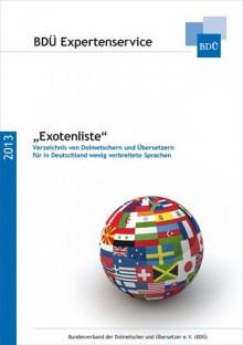 Exotenliste Cover